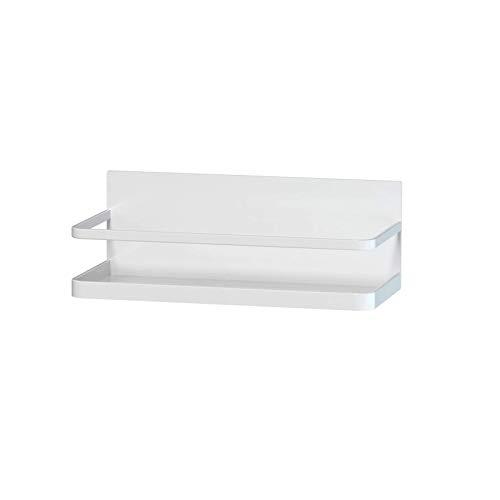 Magnetische Ablage für Kühlschrank Gewürzregal Kühlschrank Magnetische Gewürzkorb Kühlschrank Kühlschrank Organizer (Weiß)