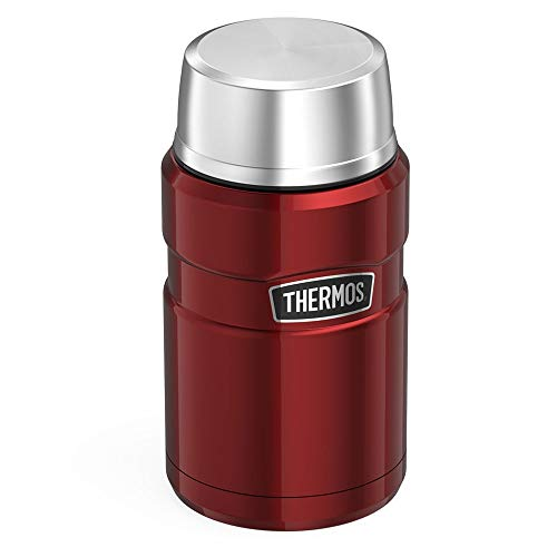 Thermos Isolierbehälter, 710ml, Edelstahl Cranberry Red