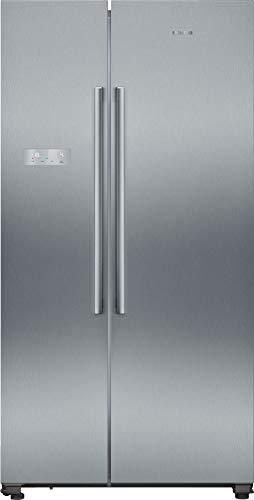 Siemens KA93NVIFP iQ300 amerikanischer Side-by-Side Kühl-Gefrier-Kombination / F / 413 kWh/Jahr / 580 l / noFrost / superCooling / freshSense / multiAirflow-System