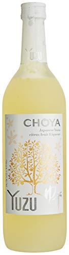 Choya Yuzu (japanischer Fruchtlikör, alkoholhaltiges Getränk aus Japan, Yuzu Frucht, 15% vol.) 1er Pack (1 x 0,7 l)
