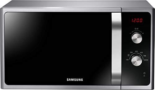 Samsung MWF300G MS2AF300EES/EG Mikrowelle / 800 W / 23 L Garraum / 48,9 Breite / 6 Leistungsstufen / Auftauautomatik / silber / E-Commerce Verpackung
