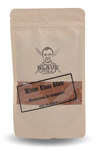 Wilder Klaus 'black'...Würzmischung für Schwarzwild von Klaus grillt.