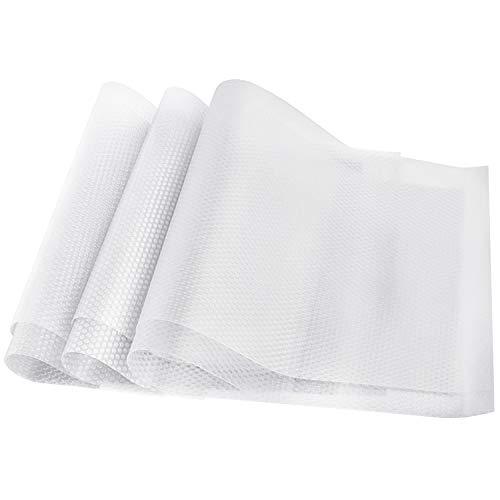 HAUSPROFI 6er Antibakterielle Kühlschrankmatten Matten entziehen Feuchtigkeit und Gerüch rutschfest,abwaschbar und DIY zuschneidbar Kühlschrank Matten [29cm x 45cm]