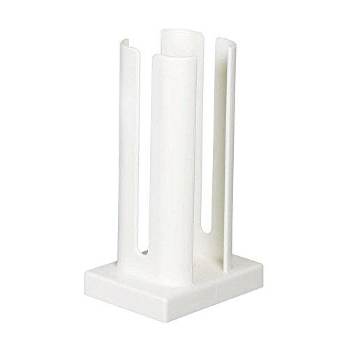 Tassenstapler weiß 21cm hoch