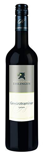 Württemberger Wein Esslinger Schenkenberg Gewürztraminer Spätlese -STUFE 8 - halbtrocken (1 x 0.75 l)
