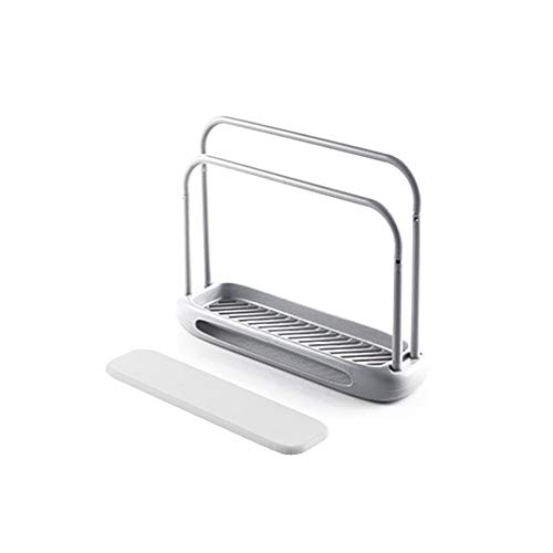 Handtuchhalter Einfach Wasserabsorbierendes Schnelltrocknungsgestell /100 Diatomeen-Schlamm Doppelter Lappenhalter / Wischtuchhalter Handtuchhalter Ein Lappenhalter Handtuchhalter Lappen-Seifenhalter