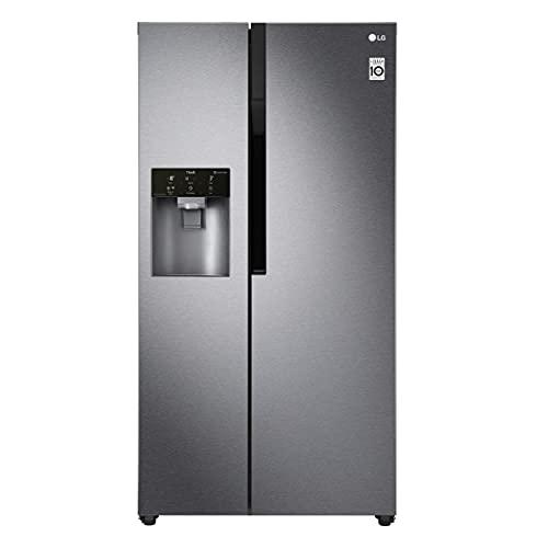 LG Electronics GSL 361 ICEZ Side by Side / A++ / 179 cm / 375 kWh/Jahr / 394 Litre / 197 Gefrierteil / Digitaldisplay mit Temperaturregelung / No Frost / dunkel graphite