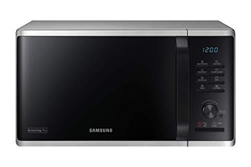 Samsung MW3500K Mikrowelle MG2AK3515AS/EG mit Grill / 800 W / 23 L Garraum / 48,9 cm Breite / Quick Defrost / 27 Automatikprogramme / Silber