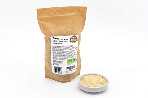 Bio Amla Pulver – 500g – Rein und naturbelassen – Ohne künstliche Zusätze – Vegan