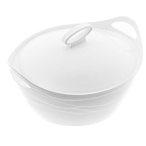 BEM Thermoschüsseln mit Deckel Einzeln erhältlich   Warmhaltebehälter Essen Thermobehälter für Essen Thermos Essensbehälter Thermobox für Essen Suppen Thermosbehälter Schüssel 5L,3,5L, 2,5L