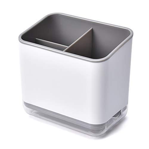 HomeMagic Besteck-Abtropfkorb, 3 Fächer Utensilienhalter, Spülbecken Organizer für die Küche, Bestecke Organizer (2)
