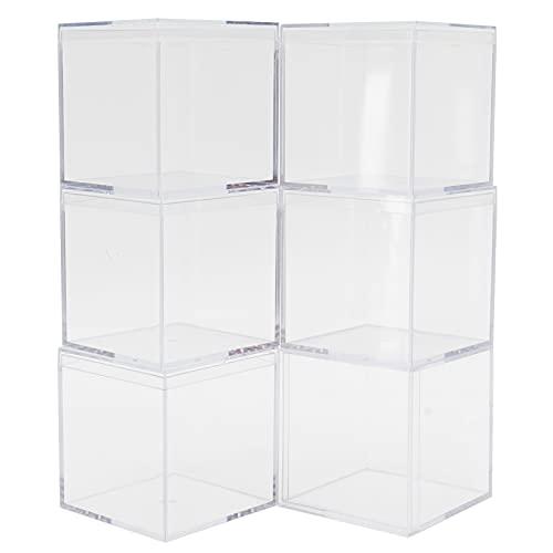 Klare Box, Süßigkeiten-Aufbewahrungsbehälter Transparente Süßigkeiten-Box Klare Behälterkanten sind glatt für Candy-Box