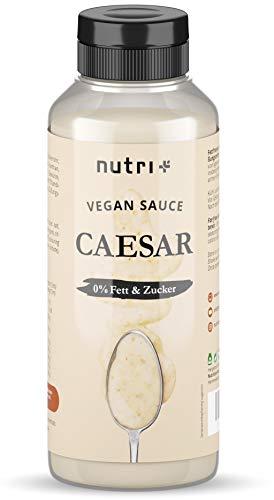 CAESAR DRESSING light ohne Zucker + Fett - nur 1 Kalorie - Low Carb Salad Sauce Zero vegan - Zuckerfrei - Fettfrei - kalorienarm - Salatdressing / Salatsauce fast ohne Kalorien