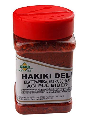 Izmir - Chili Flocken - sehr scharf - Hakiki deli aci pul biber (200g)