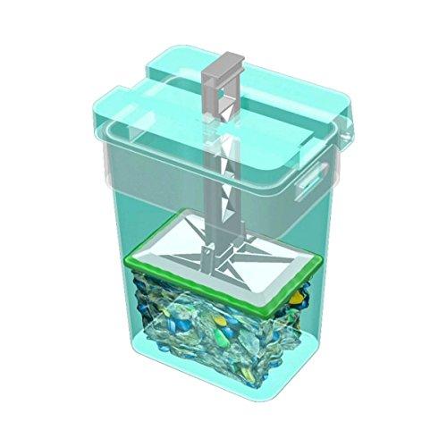 Pressboy - Mülleimer mit integrierter Pressvorrichtung - Müllpresse Haushalt, 35 Liter