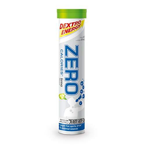 Dextro Energy Elektrolyt Tabletten   12x20 Brausetabletten   Limetten Geschmack   Zero Calorie Drink   Mineralstoff Tabletten   Vegan & Zuckerfrei
