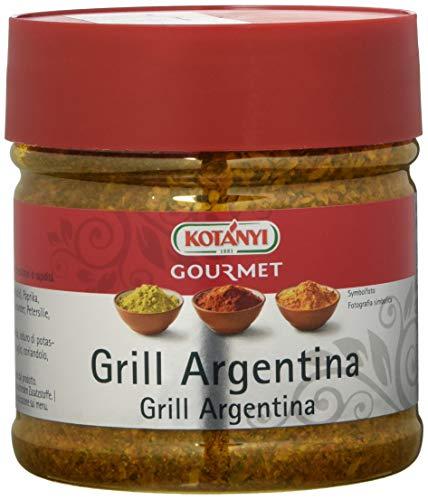 Kotanyi Gourmet Grill-Argentina Gewürzzubereitung   mit Paprika, Pfeffer, Koriander und mehr, fruchtig-pikant, ca. 285 g, 400ccm