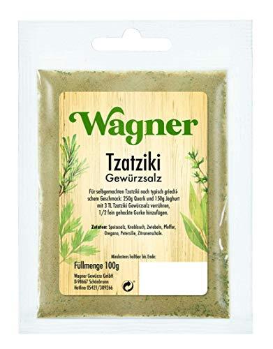 Wagner Gewürze Tzatziki Gewürzsalz, 100 g
