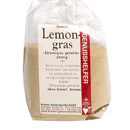 Bremer Gewürzhandel - Lemongras 50 Gramm gemahlen - Zitronengras -Klassisches Gewürz für die Asiatische Küche - ohne Geschmacksverstärker