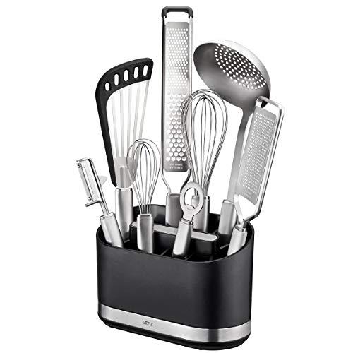GEFU 29252 Utensilien-Behälter SMARTLINE – Wichtige Küchenutensilien immer griffbereit