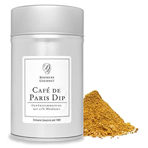 Boomers Gourmet - Cafe de Paris Dip Gewürzmischung - Gewürzdose 11,5 cm - 150 g