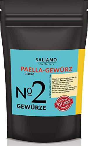 100g Paella-Gewürz, Paella Pfanne, Gewürzmischung, Paella Reispfanne, Paella Kräutermischung, Für Traditionelle Paella | Saliamo