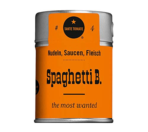 Tante Tomate - Spaghetti B. - the most wanted - Gewürzmischung 80g
