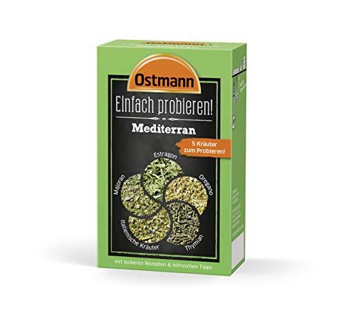 Ostmann Einfach probieren Set - Mediterran, 4er Pack (4 x 9 g)