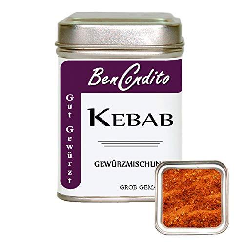 Kebab oder Döner Gewürz - Türkische Gewürzmischung   Fa. BenCondito   80 Gramm in der Gewürzdose