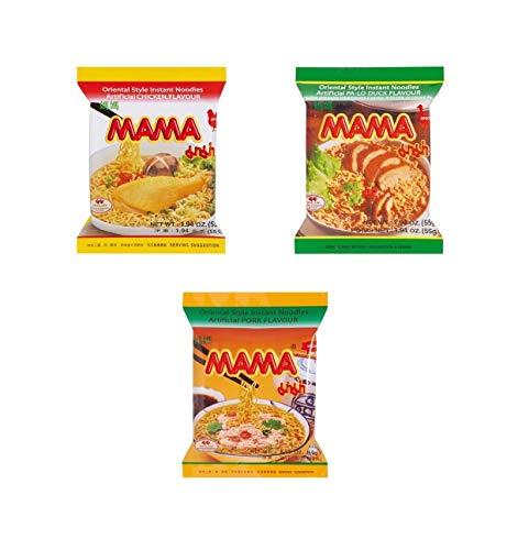 Pamai Pai® Mama Mischpaket: Ente - Huhn - Schwein 30 x Tütensuppe 1700g Suppe Nudelsuppe