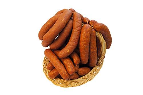 Würziges Wurstpaket Knacker Set mit Chili und Käse Krainer   Käsewurst und Chiliwurst   Wurstgeschenk Männer   1600g