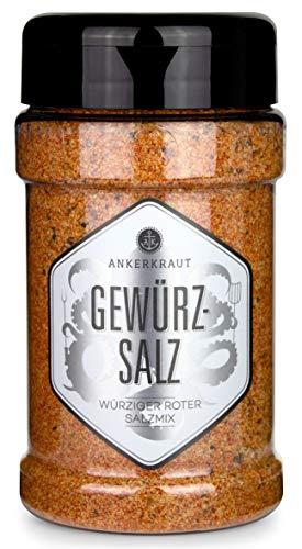 Ankerkraut Gewürzsalz, zum Grillen, Braten und Kochen, 270g im Streuer