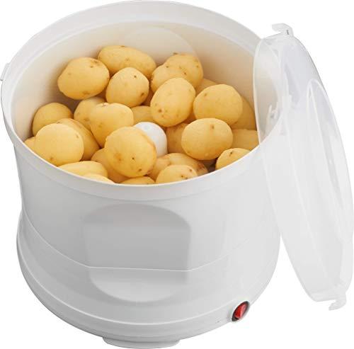 Melissa 16220007 Kartoffelschälmaschine 1kg elektrische Kartoffelschäler Kartoffel Schälmaschine