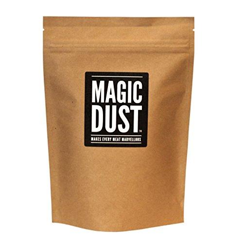 Magic Dust – BBQ Rub Gewürzmischung zum Marinieren von Fleisch, All-Zweck Gewürz – Großpackung (225g)