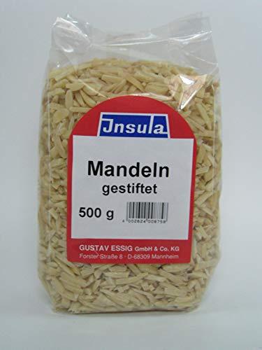 Mandeln von Insula gestiftet blanchiert zum Backen und Kochen 500g