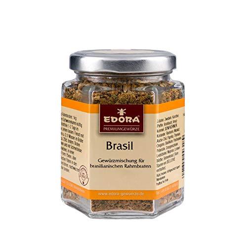 Premium Qualität Gewürz EDORA Schraubglas BRASIL Gewürzmischung für brasilianischen Rahmbraten 90 Gramm