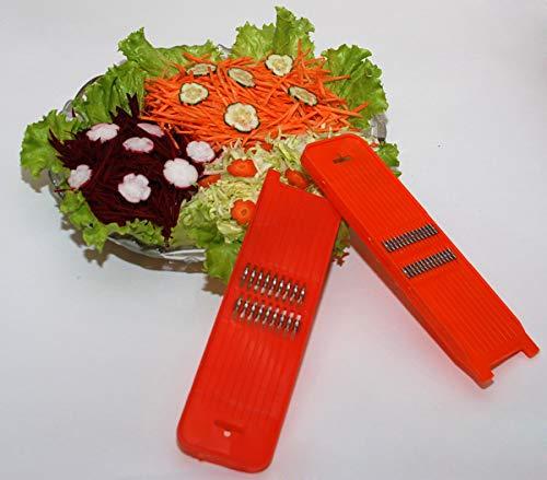 Karottenreibe und Gemüsereibe mit 1 mm Schnittbreite