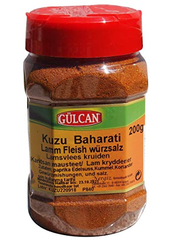 Gülcan - Lamm Gewürz - Gewürzmischung - Kuzu Baharati (200g)