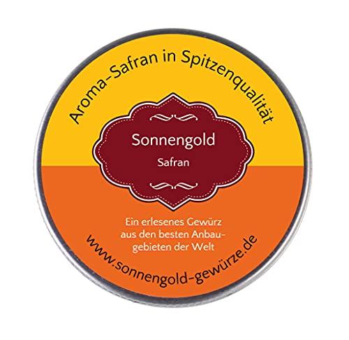 Sargolgold Safran-Fäden, Top-Qualität - Spitzenkategorie 1 (2 Gramm)