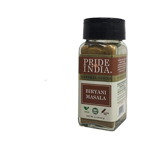 Pride Of India - Indisches Biryani Masala-Gewürz, 68 g (2,4 oz) Dual Sifter Jar, authentische indische Gewürzmischung, perfekt für Biryani