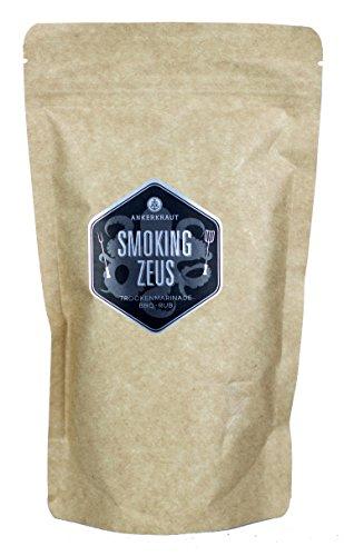 Ankerkraut Smoking Zeus, BBQ Gewürzmischung zum Grillen und Zubereiten von Gyros und Schweinefleisch, 250g im Beutel