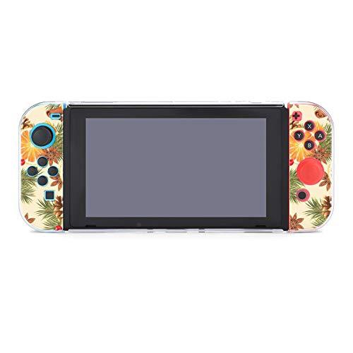 Hülle für Nintendo Switch Orange und Gewürze Fünf Stück Set Schutzhülle Case Kompatibel mit Nintendo Switch Spielekonsole