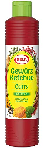Hela Curry Gewürz Ketchup delikat 800 ml (1 x 800 ml)
