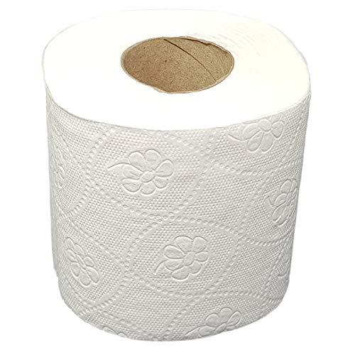 72 Rollen Toilettenpapier 3-lagig 250 Blatt je Rolle