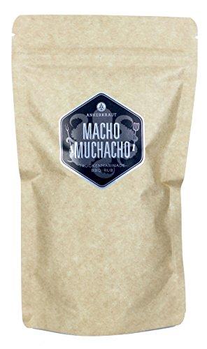 Ankerkraut Macho Muchacho, BBQ Rub für texanische und mexikanische Küche, 250g im Beutel