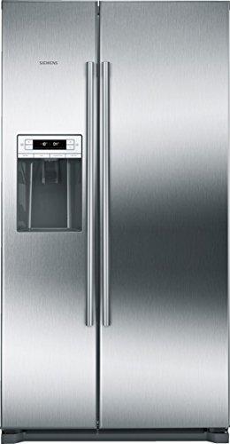 Siemens KA90DVI30 iQ500 Side-by-Side / A++ / 177,00 cm Höhe / 341 kWh/Jahr / l Kühlteil / 163l Gefrierteil / No Frost / LED-Beleuchtung