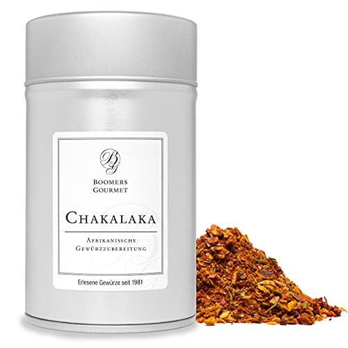 Boomers Gourmet - Chakalaka Gewürz I Chakalaka Gewürzmischung Afrikanisch - Gewürzdose 11,5 cm - 140 g