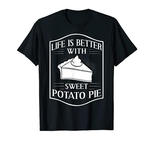 Süßkartoffel Kuchen Rezept Hausgemacht Vegan T-Shirt