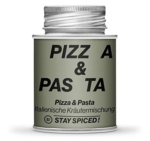 Pizza & Pasta Gewürz von STAY SPICED ! I Premium Kräuter Gewürz I Verpackt in 170 ml Schraubdose