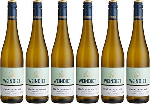 Weinbiet Manufaktur Eg Mußbacher Eselshaut Gewürztraminer Fruchtig Weißwein (6 X 0.75 L)